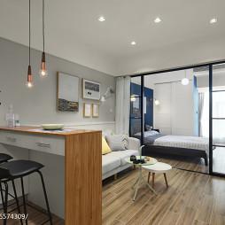 40㎡北欧宜家小客厅设计图片