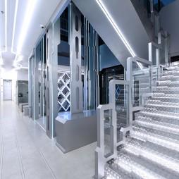 OMG电子竞技俱乐部楼梯设计