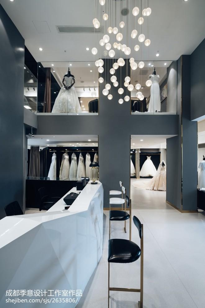 混搭风格婚纱店内部设计图