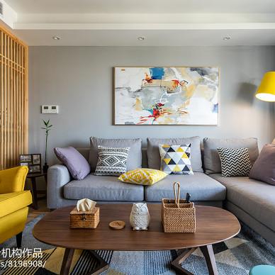 北欧复式客厅设计图片