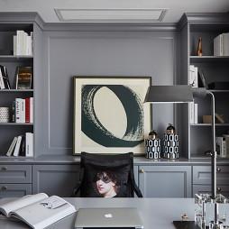 欧式三居书房设计图片