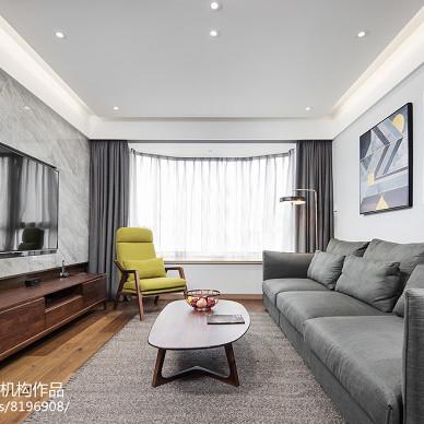 北欧风格三居客厅设计效果图