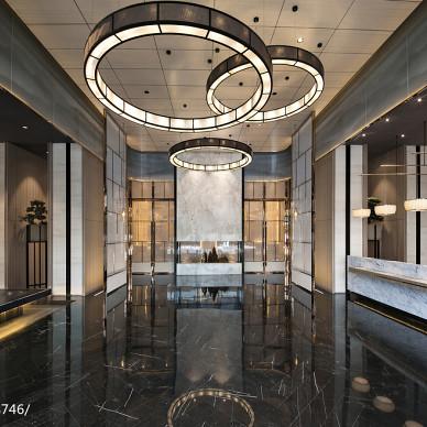 深圳财富城大堂设计图