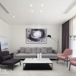 现代别墅客厅设计图