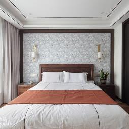 中式四居卧室设计效果图