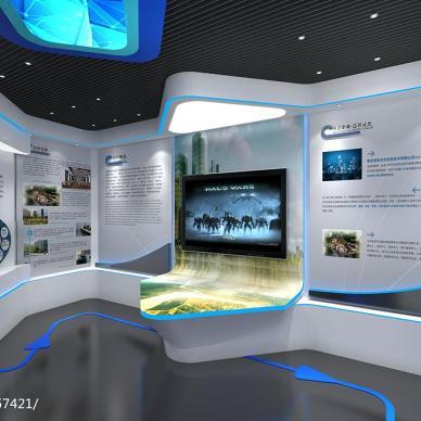 南京花神科技园智慧城市展厅_2888408