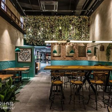 颂菌野生菌主题餐厅内部设计