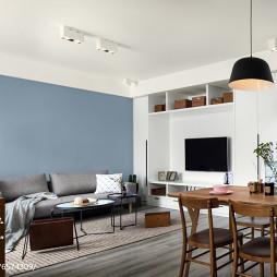 现代两居客厅设计效果图