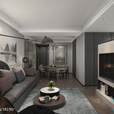 无锡宜兴120平米公寓-现代风格_2910771