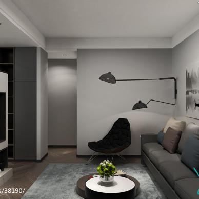 无锡宜兴120平米公寓-现代风格_2910773
