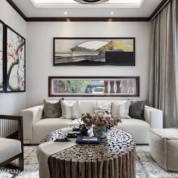 东南亚风格豪宅休闲区设计图片
