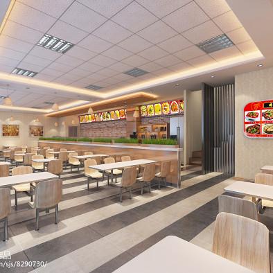 现代快餐店设计方案