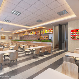 现代快餐店设计方案_2915276