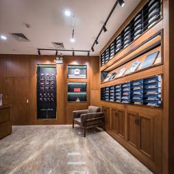 商务西装店衣服展示区设计图片