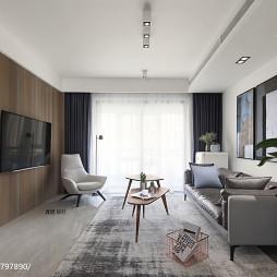 简约风格三居客厅设计图片