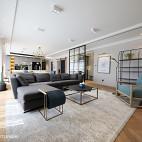 宽敞北欧三居客厅设计效果图