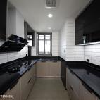 宽敞北欧三居厨房设计图片