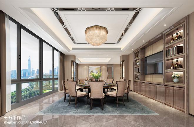 深圳红树西岸复式豪宅设计-后现代轻奢