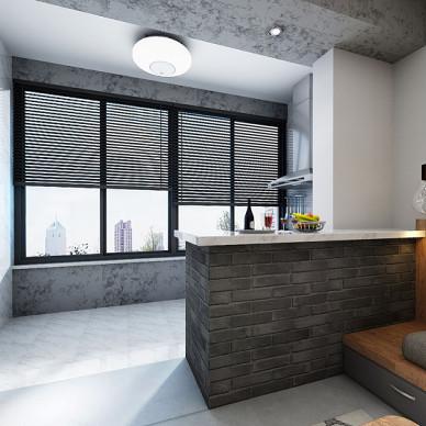 怡海星城单身公寓现代风格_2947135
