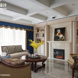 245㎡美式客厅设计图片
