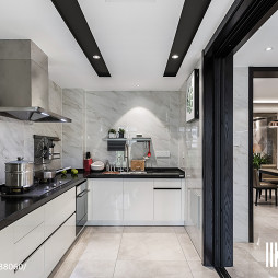 232㎡现代厨房设计图片