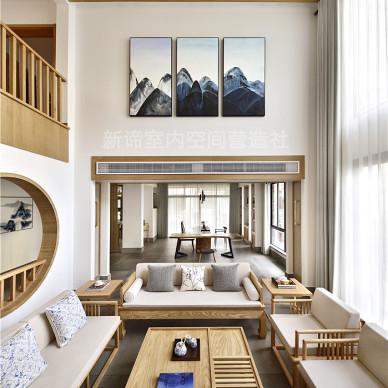 日式别墅客厅设计图