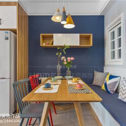 120平方北欧三居餐厅设计效果图片