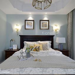 美式别墅卧室设计效果图