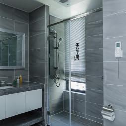 豪华现代四居卫浴设计图