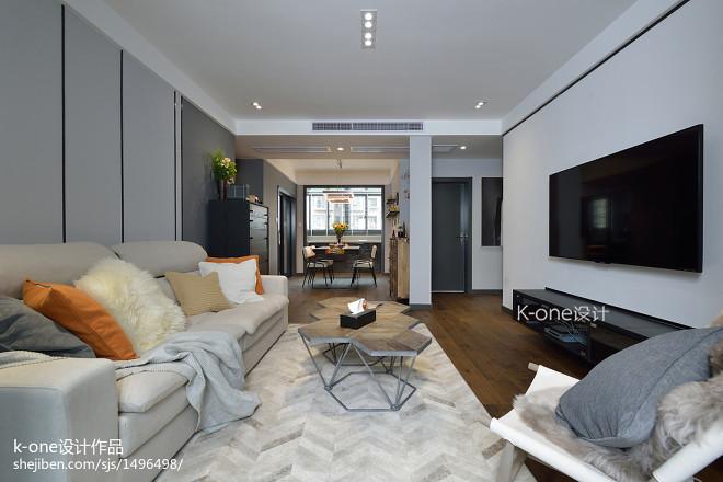 独特现代二居客厅设计效果图