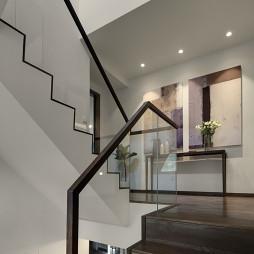 简约别墅楼梯设计图