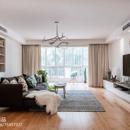 简约欧式二居客厅设计图