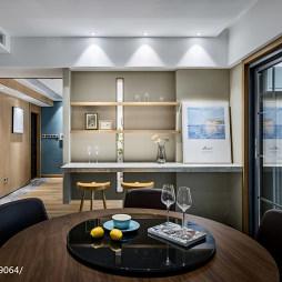 现代三居餐厅储物柜设计图