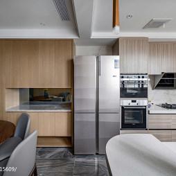 个性现代三居橱柜设计图片