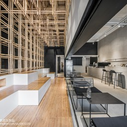 隐木咖啡厅整体设计效果图