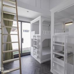 简约现代别墅儿童房设计图