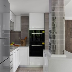 简约厨房设计图