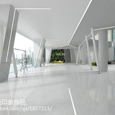 宝晶生物办公楼厂房设计装修_2993920