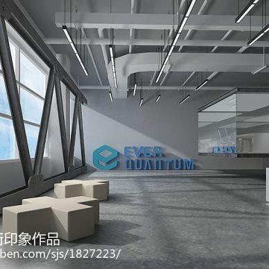 美国坦通数码办公楼空间规划装修设计_2994223