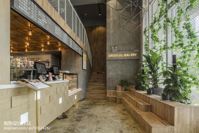 混搭咖啡厅前台设计图
