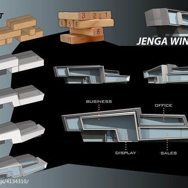 JENGA WINDOW_3007732