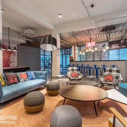 长租公寓loft客厅设计图