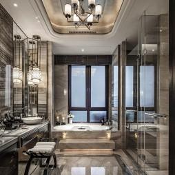 经典中式别墅卫浴设计图