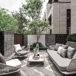 经典中式别墅花园设计图片