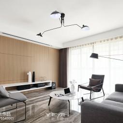 130㎡简约风格客厅设计效果图