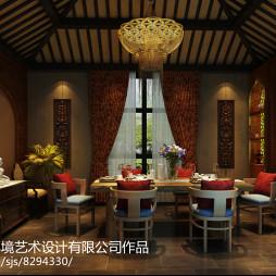 【会所设计】九间堂茶会所原创设计 河南凹凸环境设计_3027162