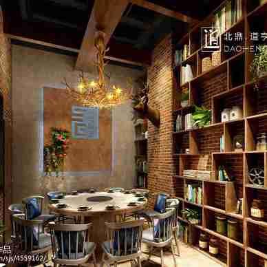 哈尔滨时尚餐厅设计_3029972