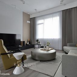 简约复式客厅设计效果图