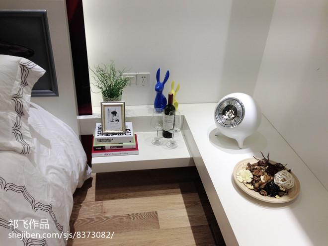 现代小户型样板房展厅_3030516