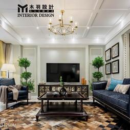 新古典别墅客厅设计图